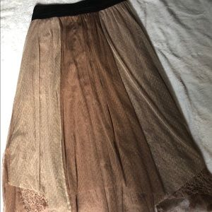 Free People boho skirt